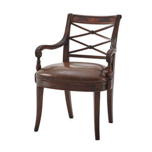 Thumbnail of THEODORE ALEXANDER - The Regency Visitor's Arm Chair