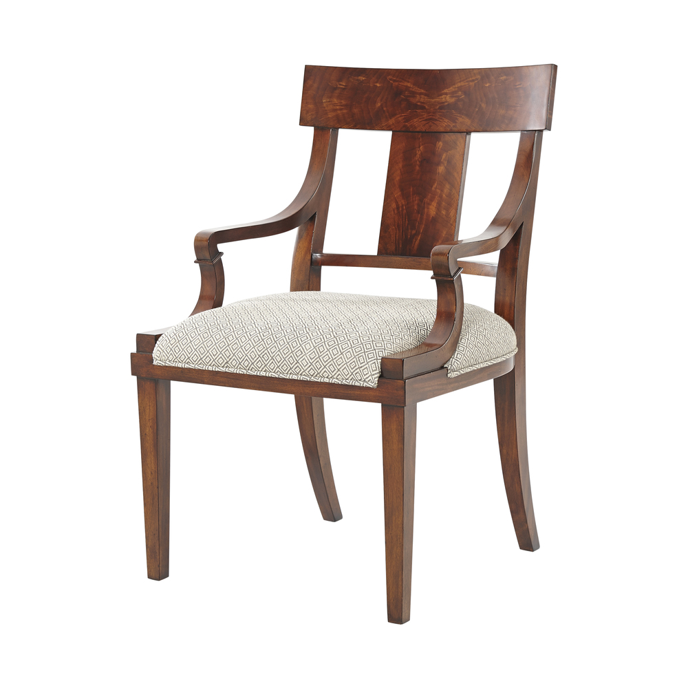 Theodore Alexander - Eternal Flame Arm Chair