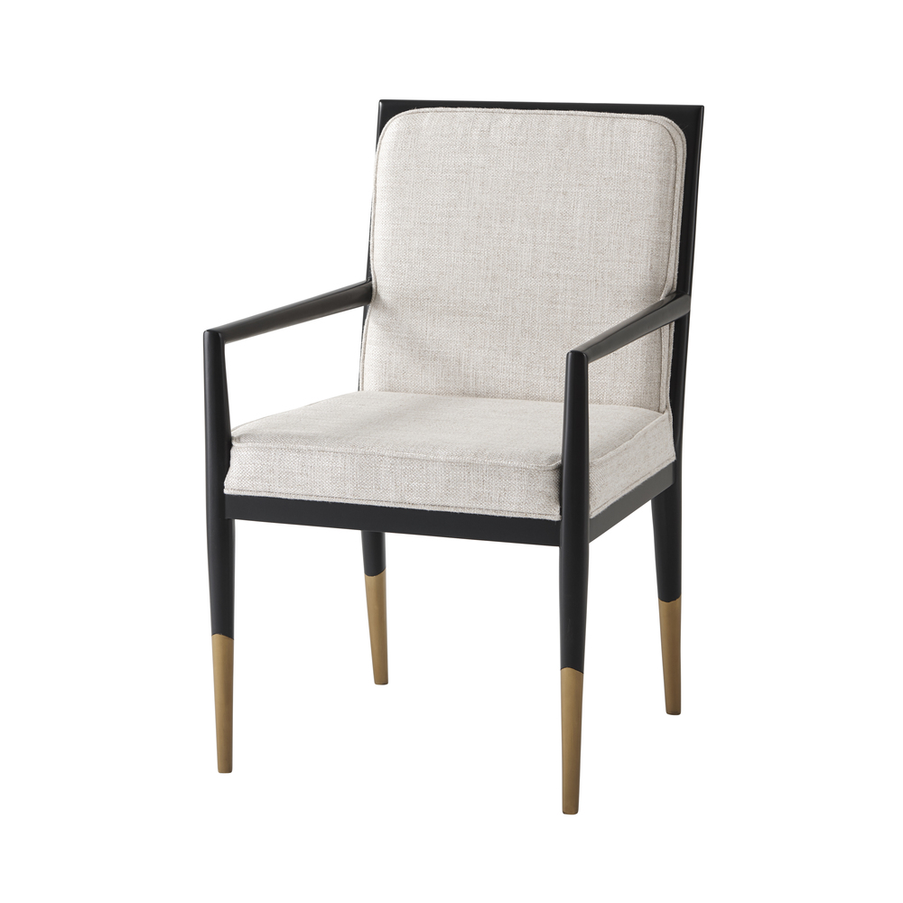 Theodore Alexander - Carlo Dining Arm Chair