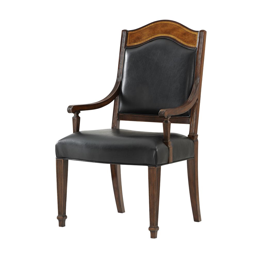 Theodore Alexander - Sheraton's Satinwood Arm Chair