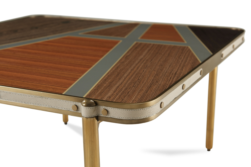 Theodore Alexander - Iconic Square Cocktail Table