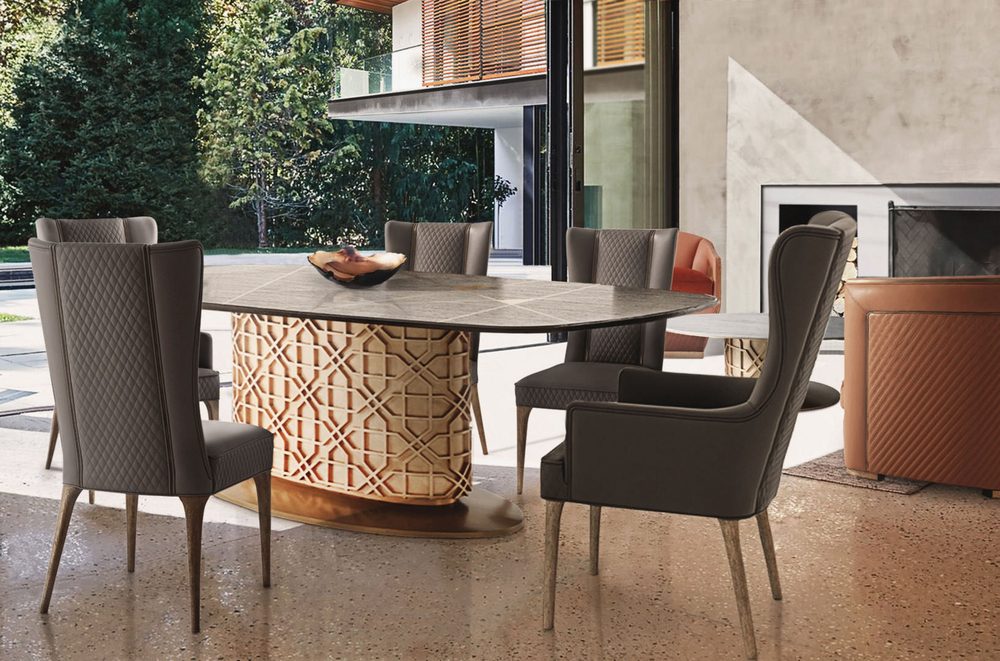 Theodore Alexander - Colter Oval Dining Table
