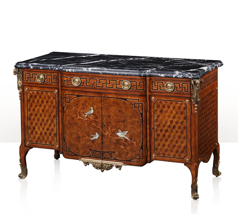 Theodore Alexander - King's Aviary Decorative Chest