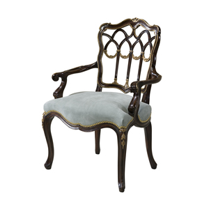 Thumbnail of THEODORE ALEXANDER - The Gothic Library Arm Chair