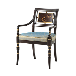 Thumbnail of THEODORE ALEXANDER - Library Open Arm Chair