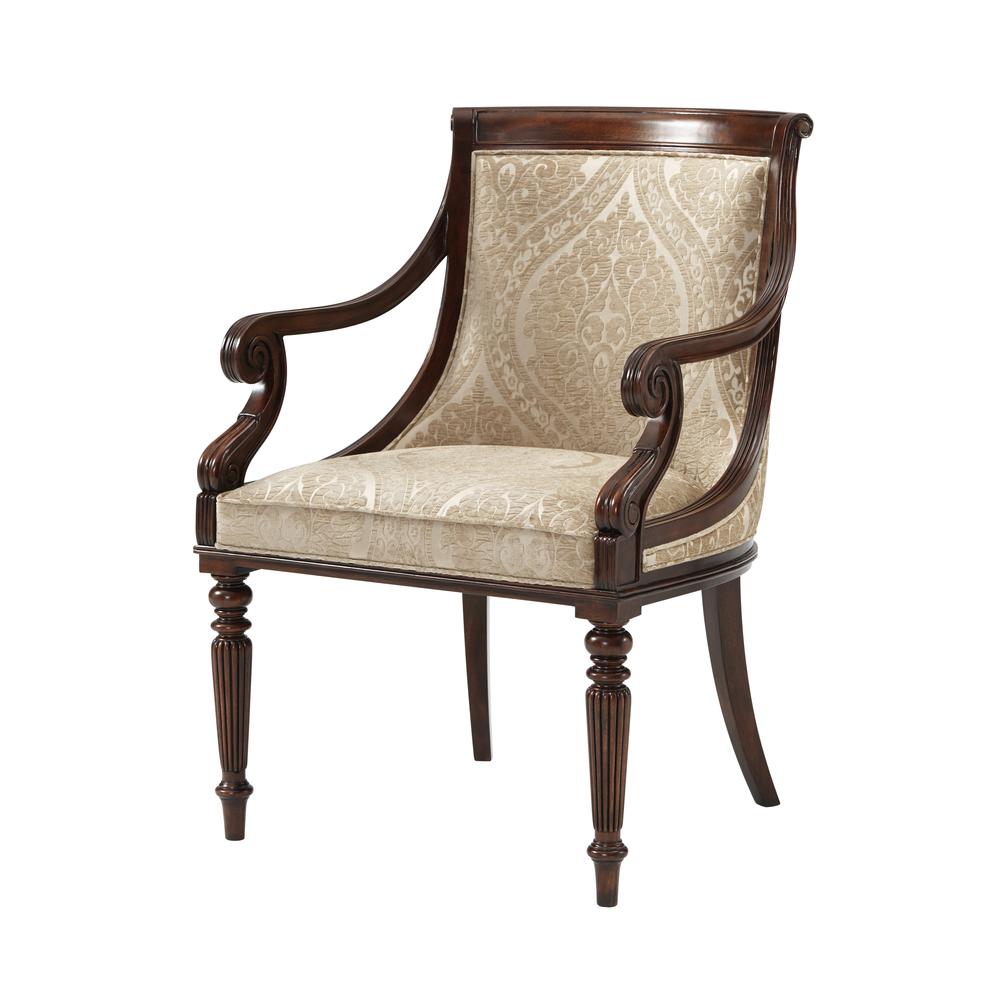 THEODORE ALEXANDER - Floris Arm Chair