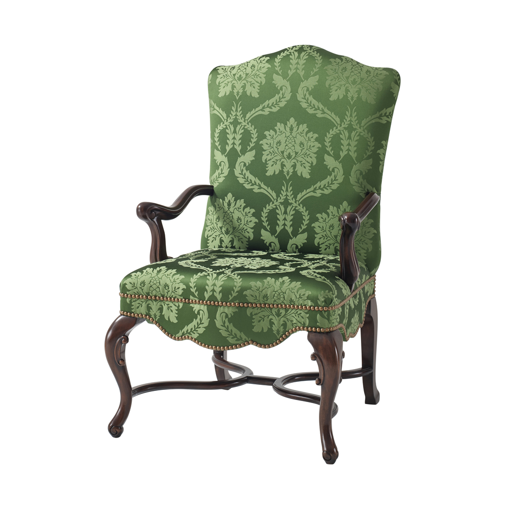 Theodore Alexander - Cupid's Bow Dining Arm Chair