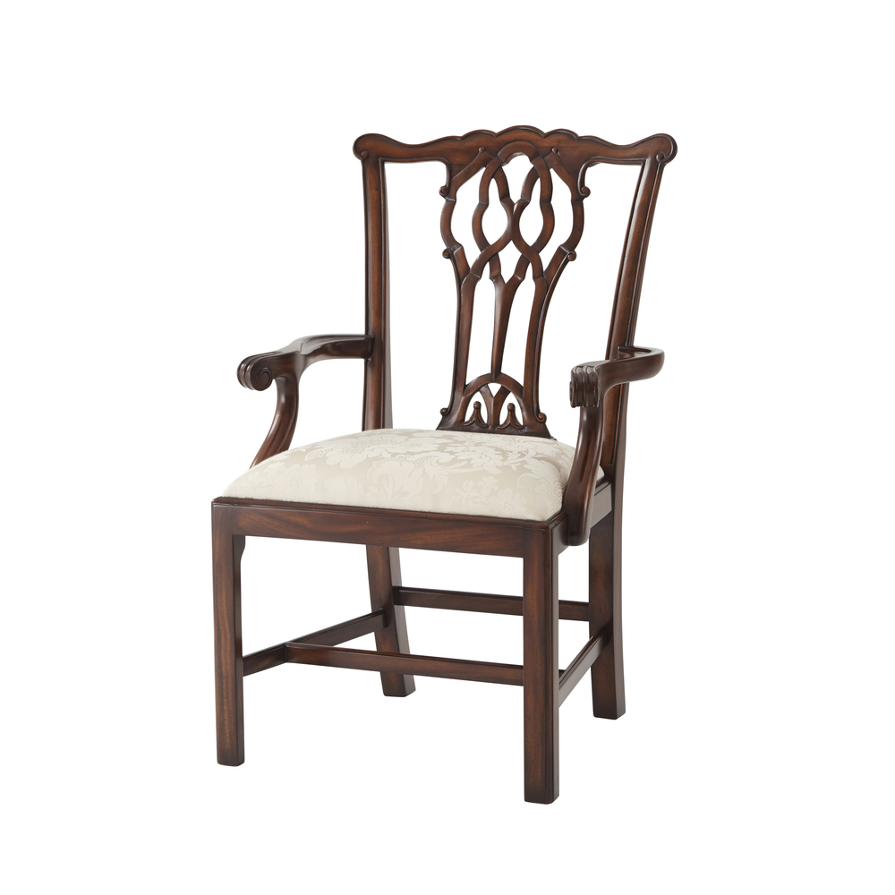 THEODORE ALEXANDER - The Great Room Dining Arm Chair