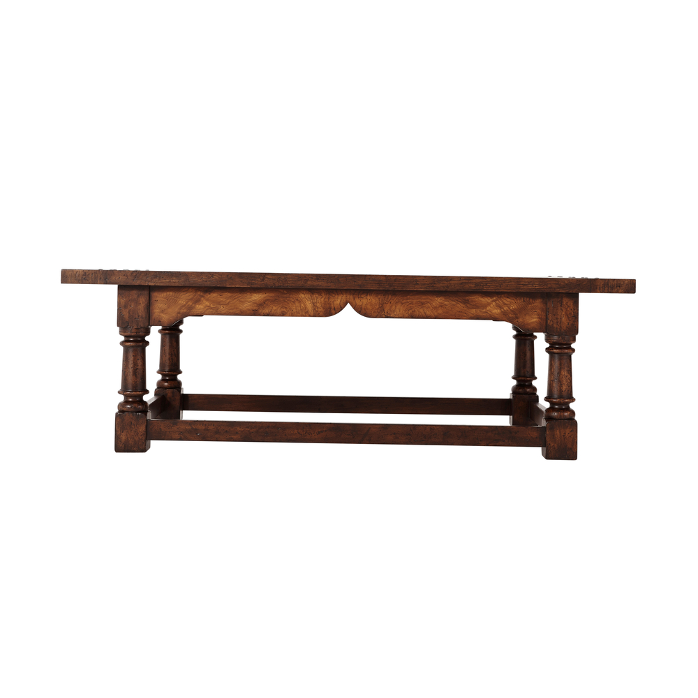 Theodore Alexander - Victory Oak Cocktail Table