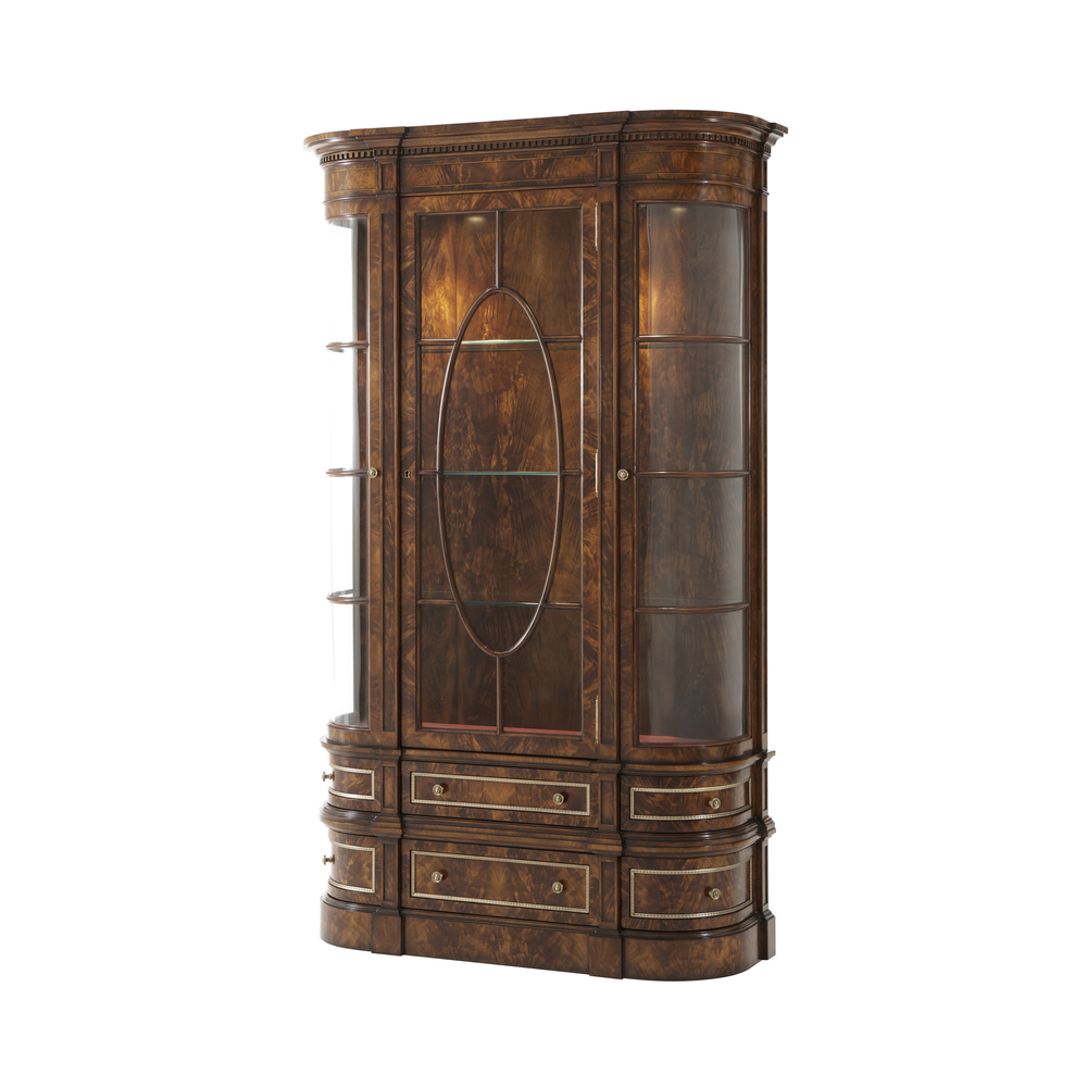 Theodore Alexander - Gothic Library Display Cabinet