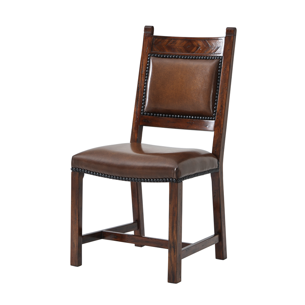 THEODORE ALEXANDER - Chevrons Side Chair