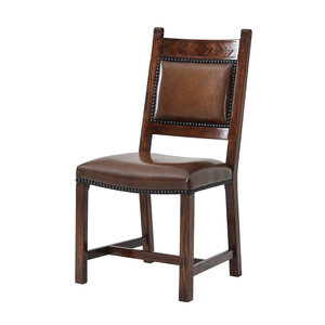 Thumbnail of THEODORE ALEXANDER - Chevrons Side Chair