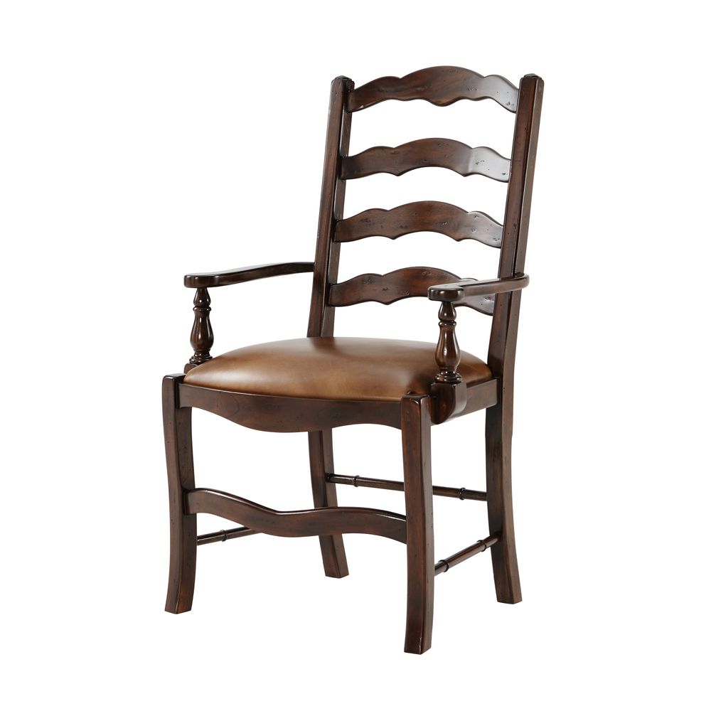 THEODORE ALEXANDER - An Evening with Friends Arm Chair