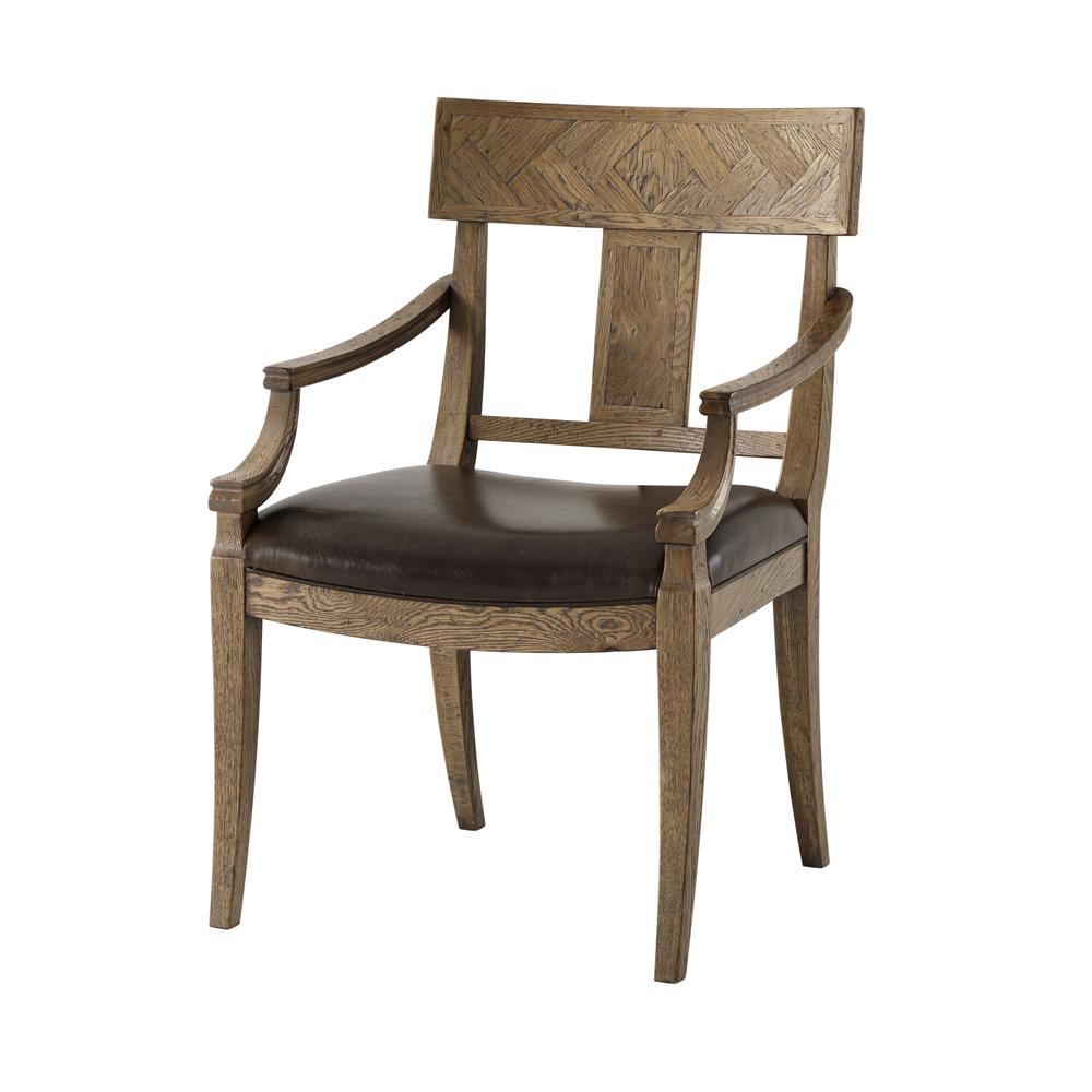 Theodore Alexander - Jude Klismos Dining Arm Chair