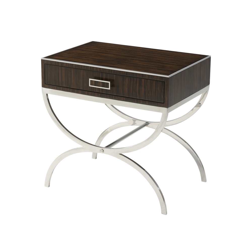 Theodore Alexander - Half-Moon Side Table