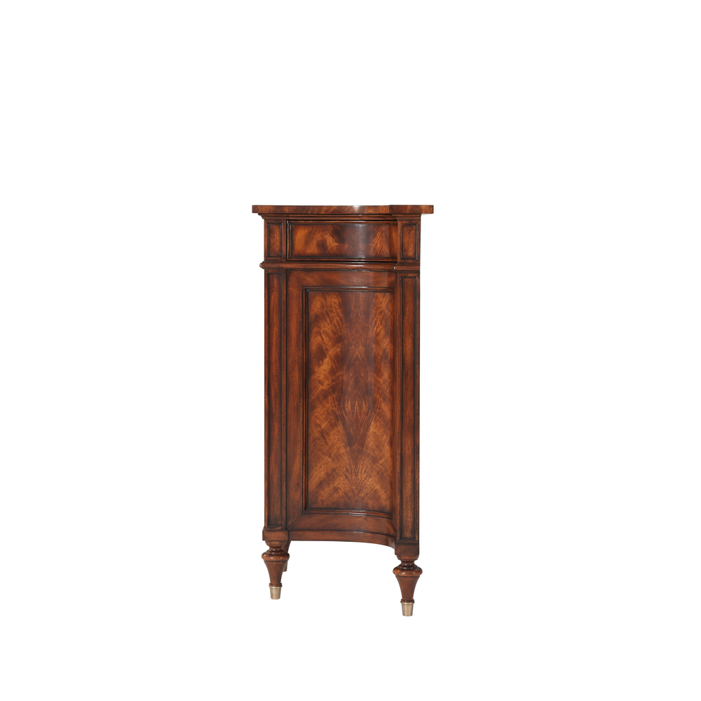 Theodore Alexander - Concave Side Cabinet Sideboard
