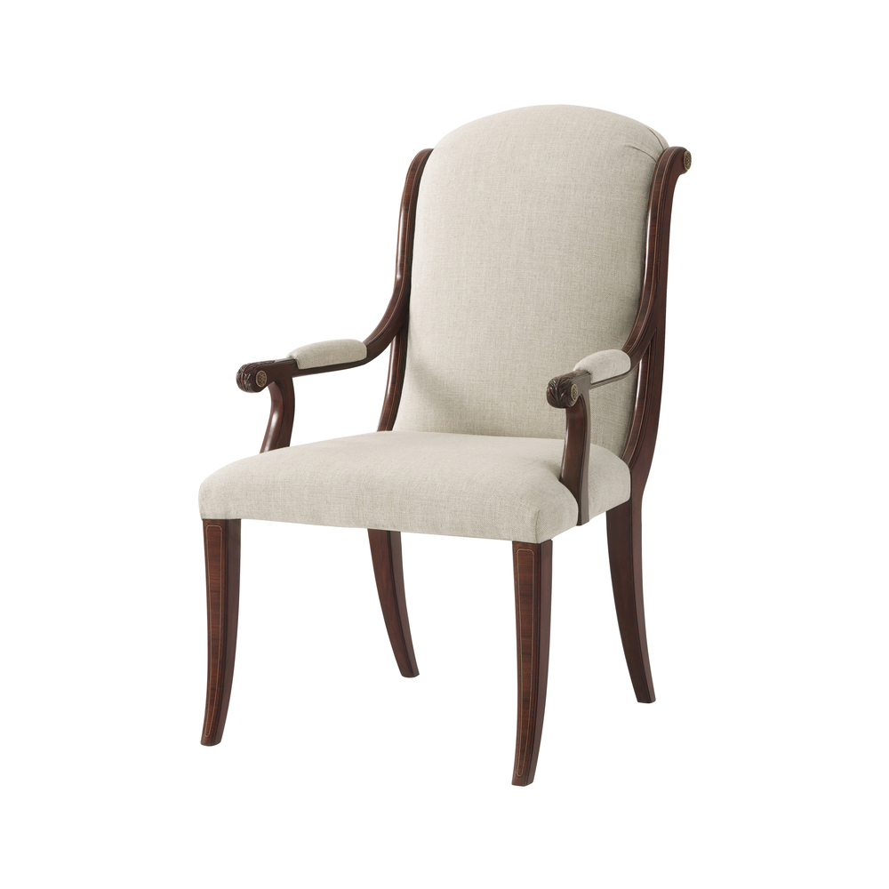 Theodore Alexander - Chandler Arm Chair