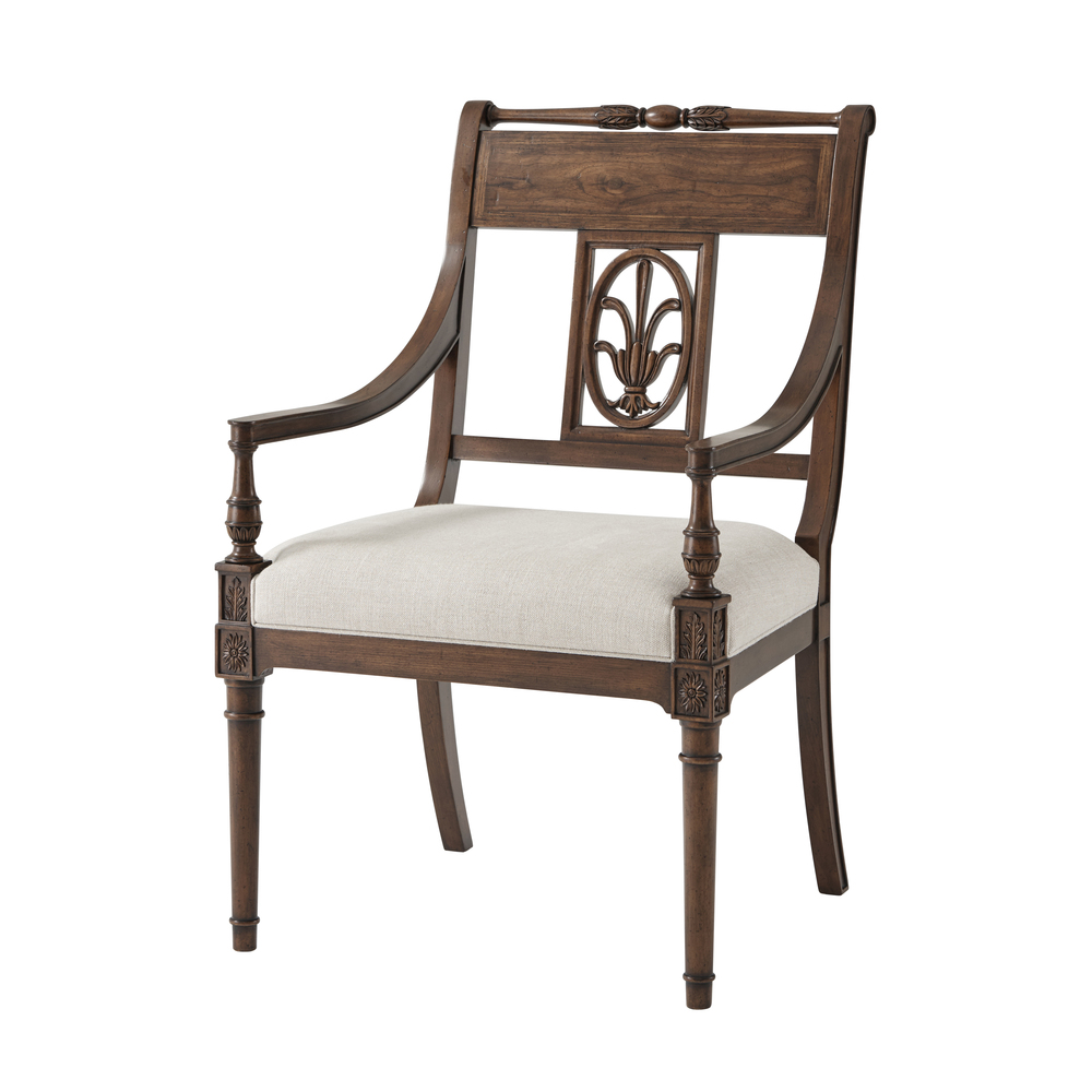 Theodore Alexander - The Iven Dining Arm Chair