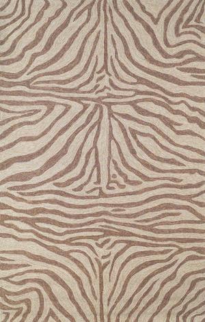 Thumbnail of Trans-Ocean Import - Ravella Zebra Brown Rug, 5'x8'