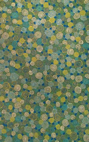 Thumbnail of Trans-Ocean Import - Visions III Giant Swirls Marina Rug, 5'x8'