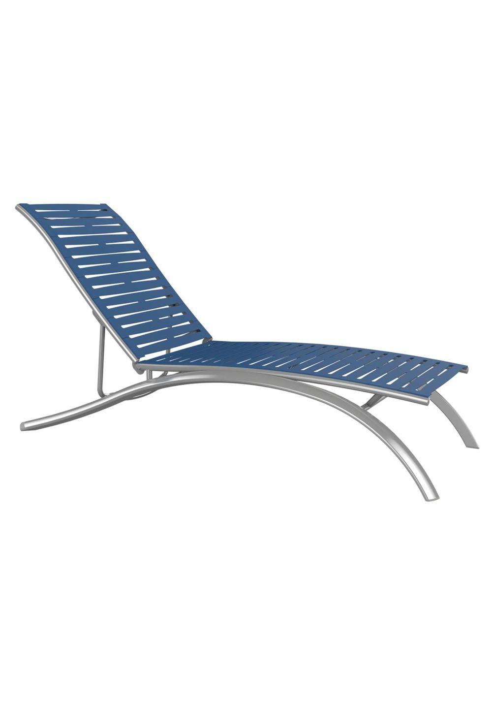 Tropitone Furniture - Elite Chaise Lounge, Armless