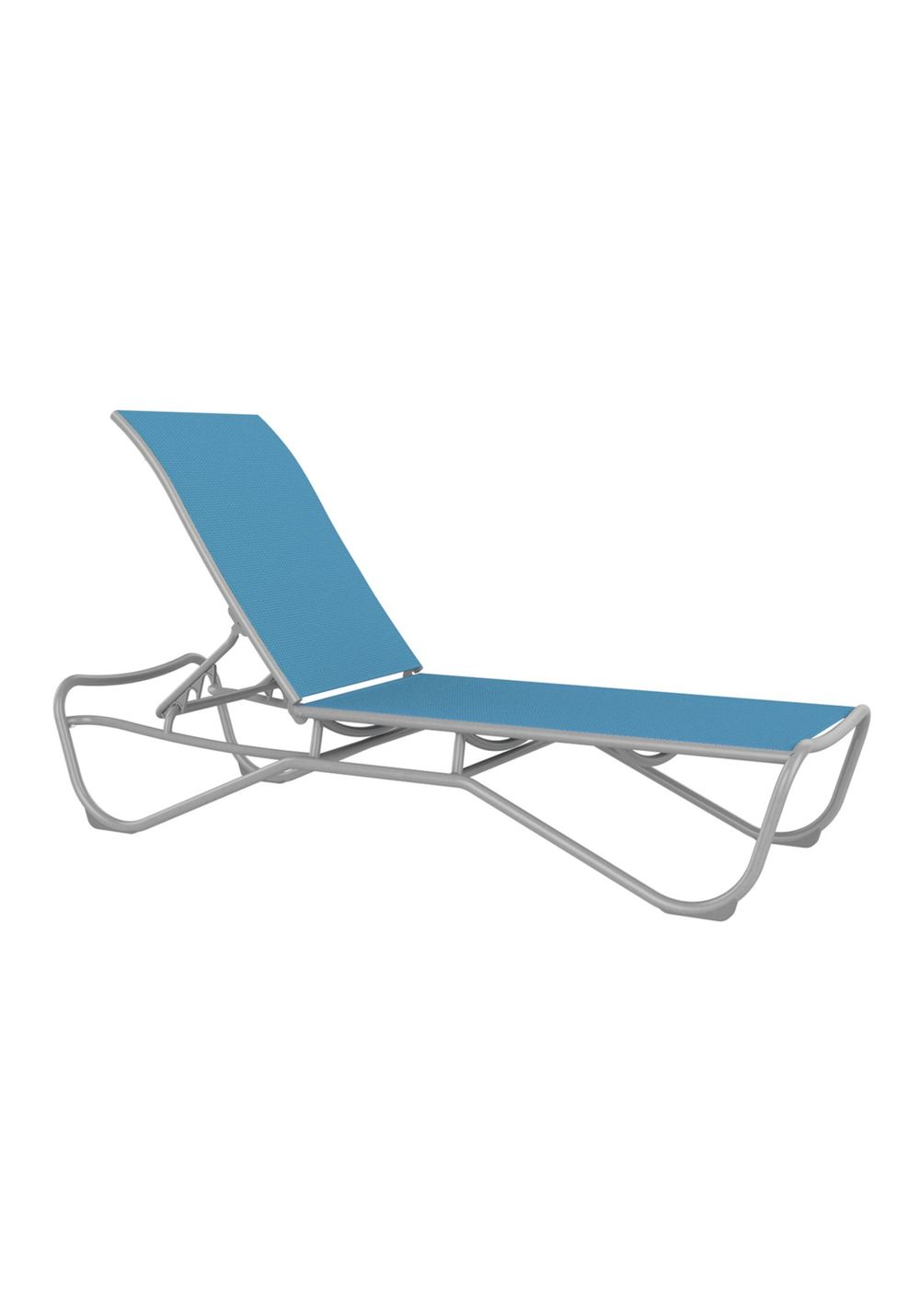 Tropitone Furniture - Chaise Lounge without Shelf, Armless