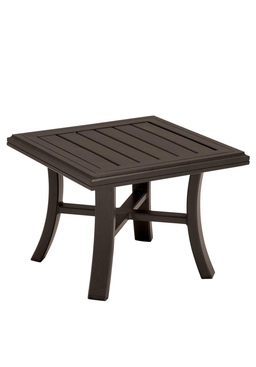 Tropitone Furniture - Square Tea Table