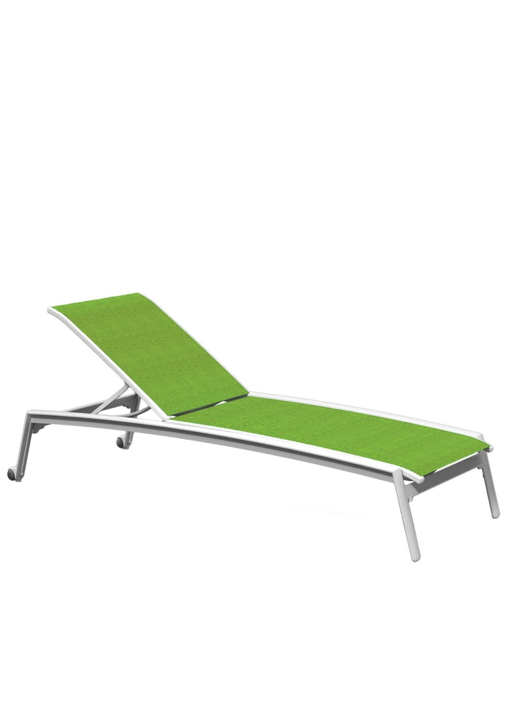 Tropitone Furniture - Chaise Lounge with Wheels