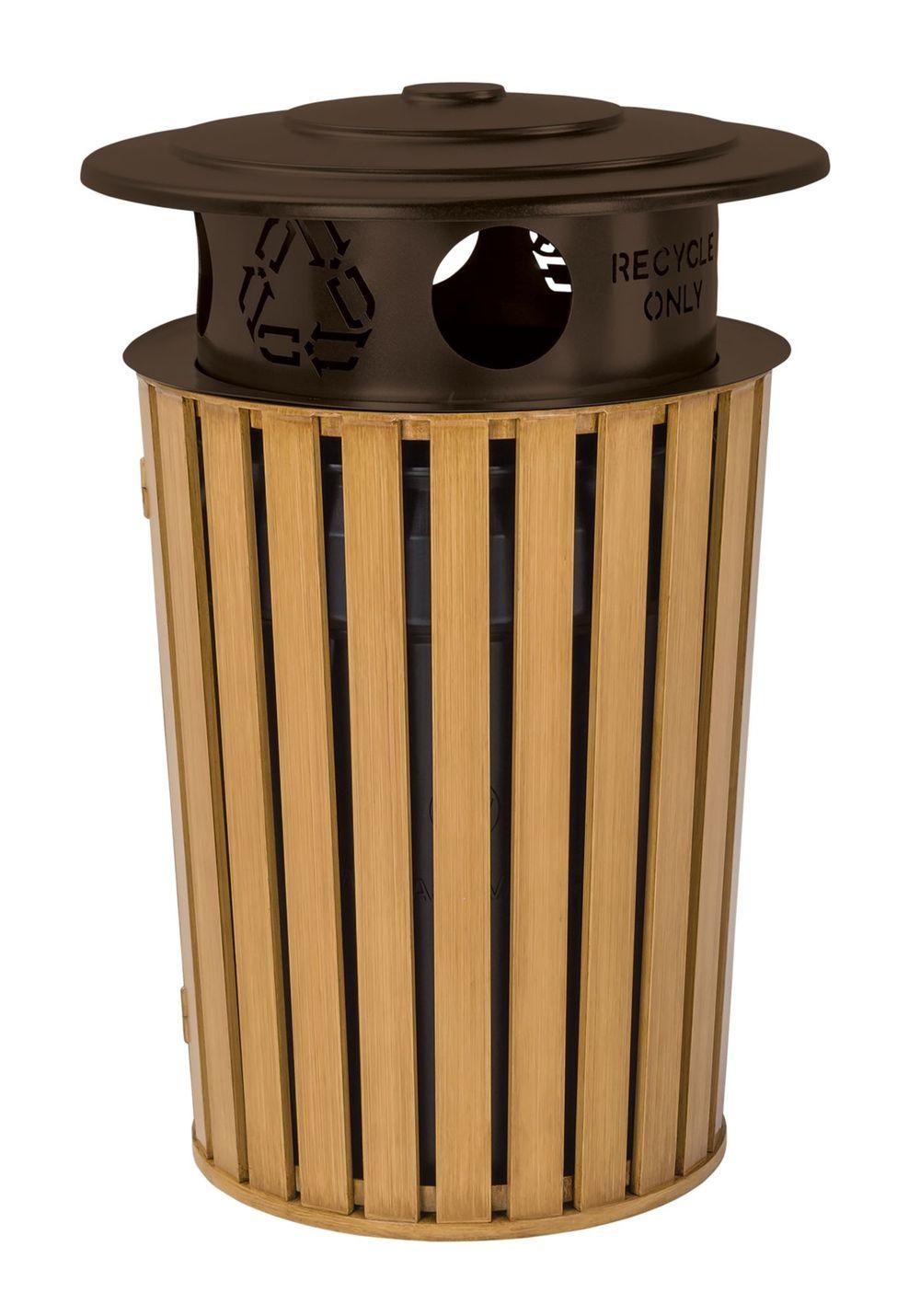 Tropitone Furniture - District Round Waste Receptacle