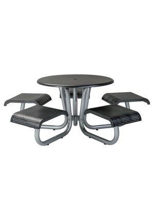 Thumbnail of Tropitone Furniture - District Round Picnic Table with 5 Seats