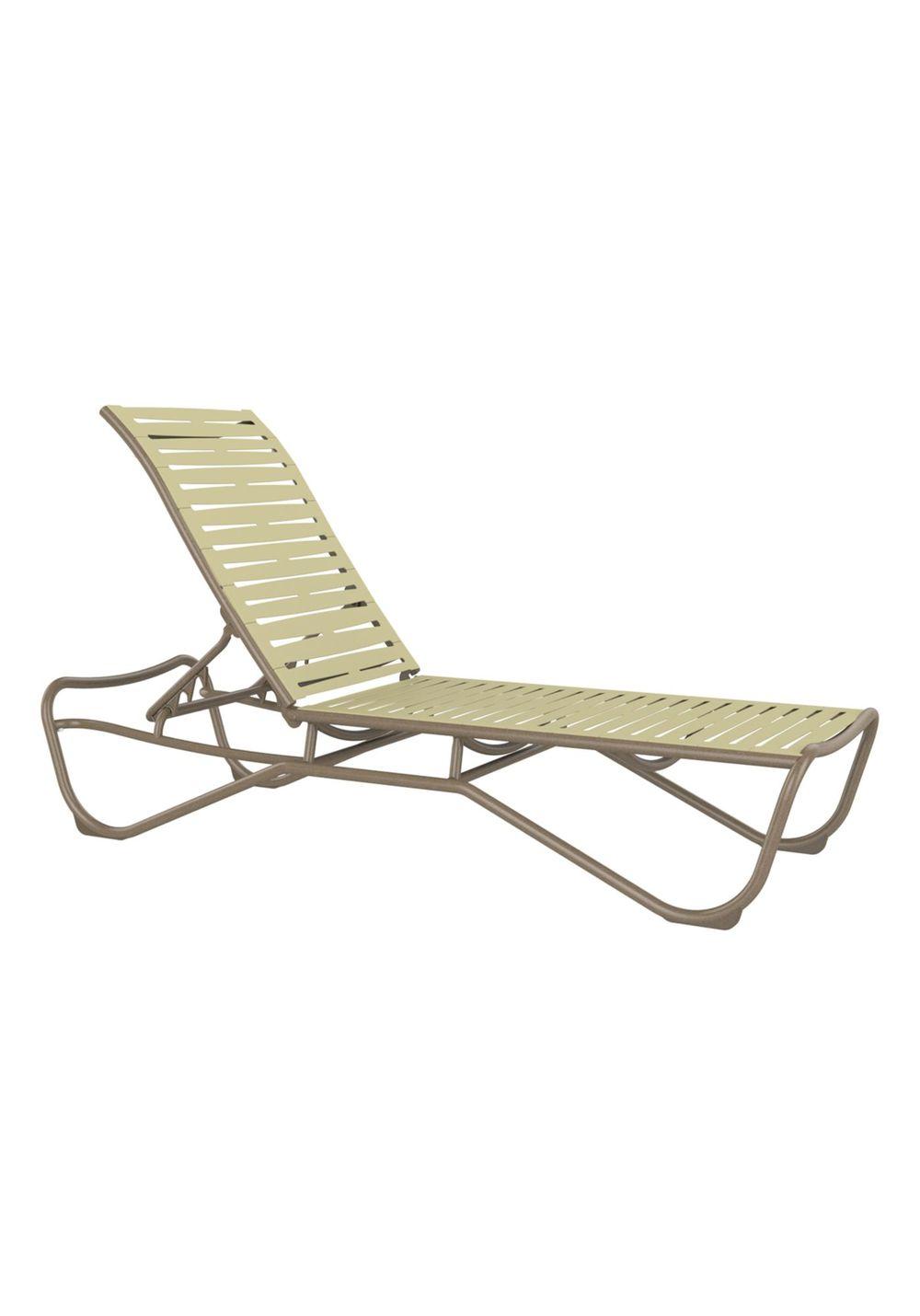 Tropitone Furniture - Chaise Lounge, Armless