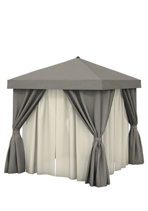 Thumbnail of Tropitone Furniture - 8' Square with Fabric Curtains & Sheer Curtain Rods,