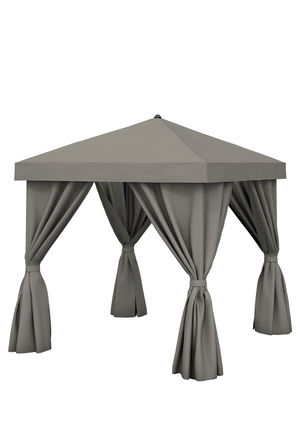 Thumbnail of Tropitone Furniture - 8'x8' Square with Fabric Curtains, No Vent