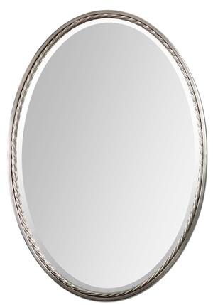 Thumbnail of Uttermost Company - Casalina Nickel Oval Mirror