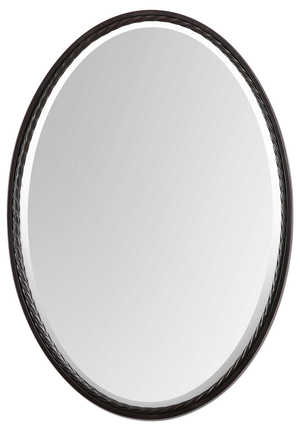 Thumbnail of Uttermost Company - Casalina Oil Rubbed Bronze Oval Mirror