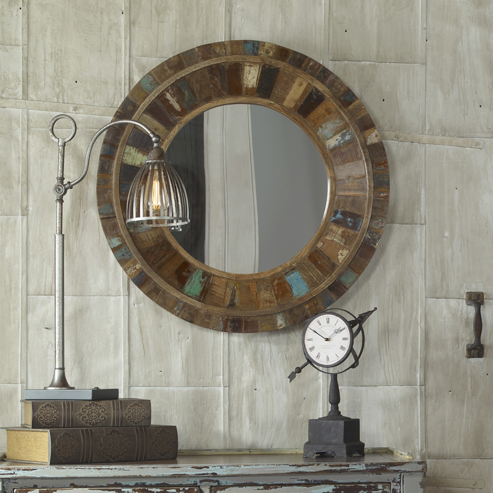 Uttermost Company - Jeremiah Round Mirror