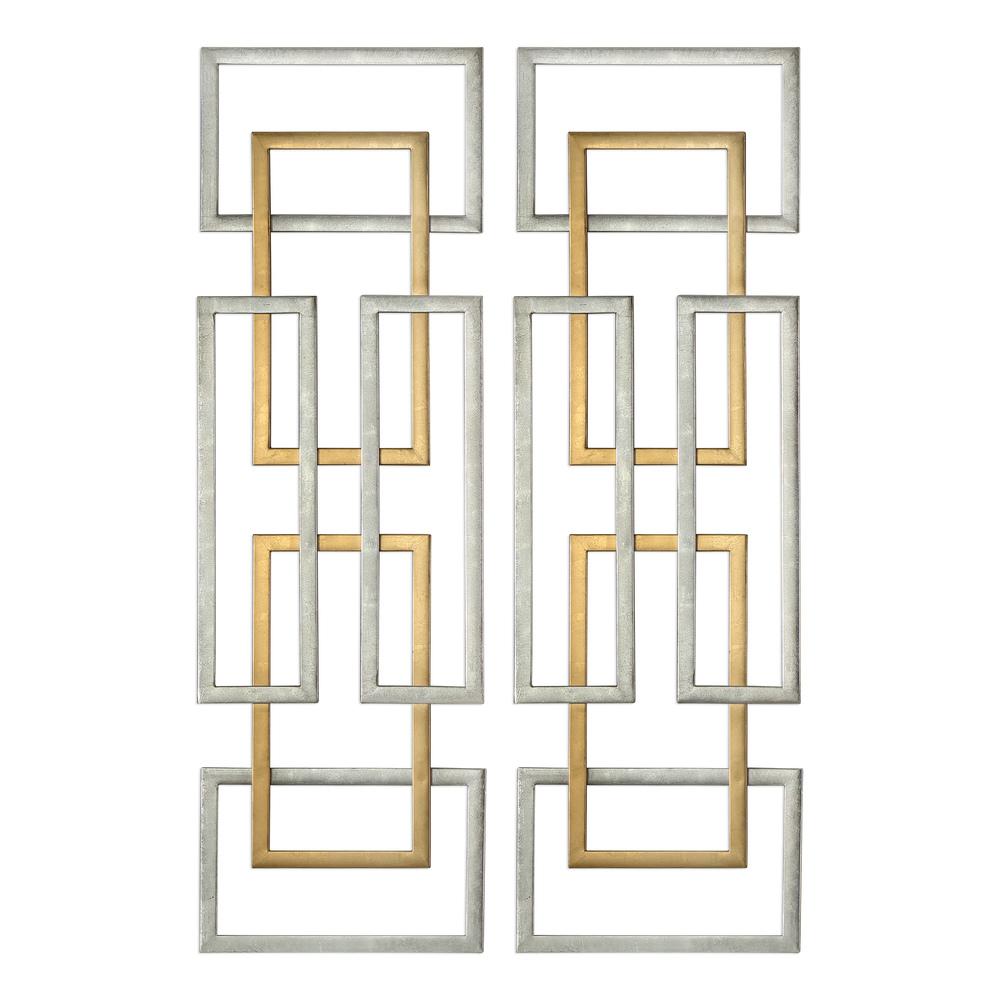 Uttermost Company - Aerin Metal Wall Panels, Set/2
