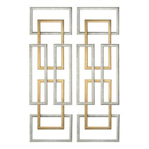 Thumbnail of Uttermost Company - Aerin Metal Wall Panels, Set/2