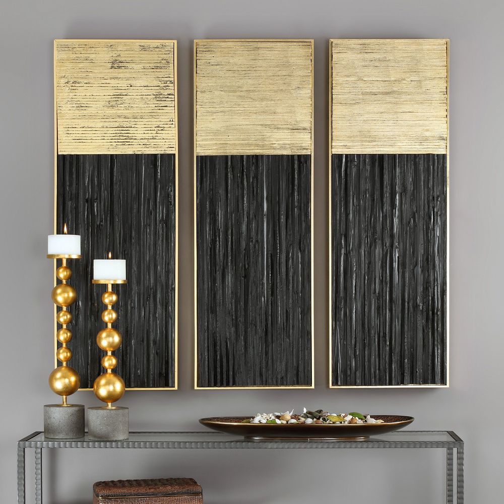 Uttermost Company - Pierra Wood Wall Panel