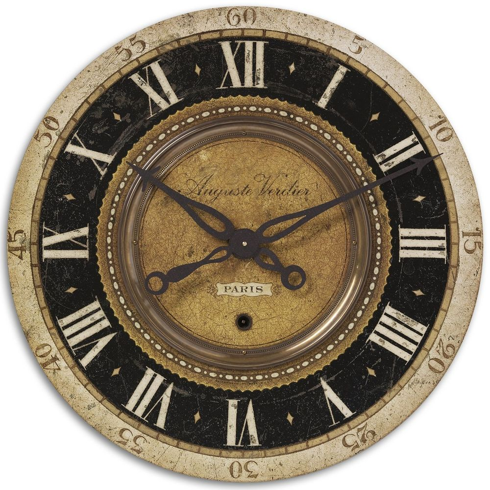 Uttermost Company - Auguste Verdier Wall Clock