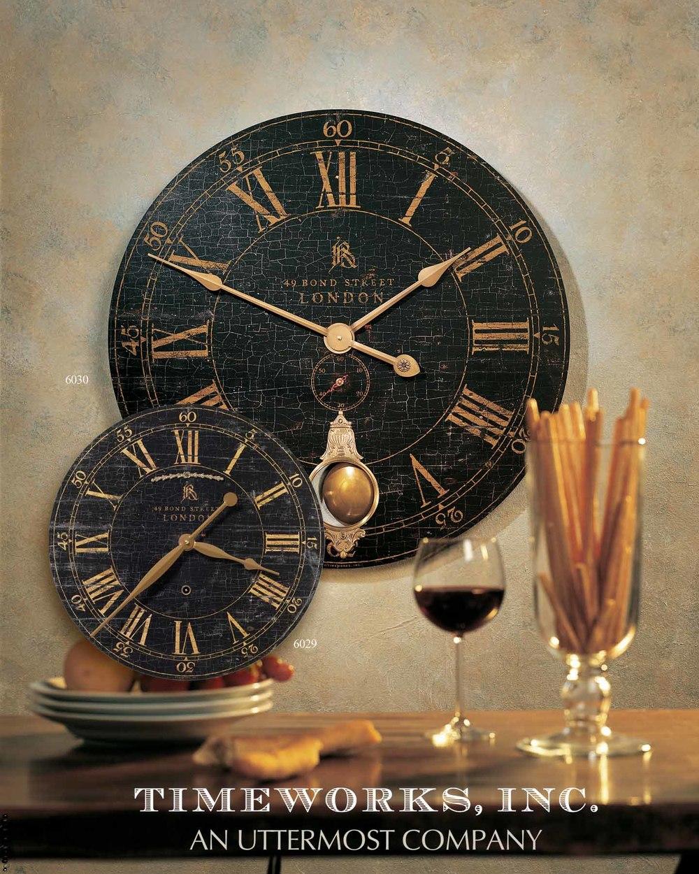 Uttermost Company - Bond Street Wall Clock