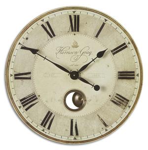 Thumbnail of Uttermost Company - Harrison Gray Wall Clock