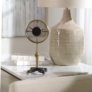 Thumbnail of Uttermost Company - Gio Brass Table Clock