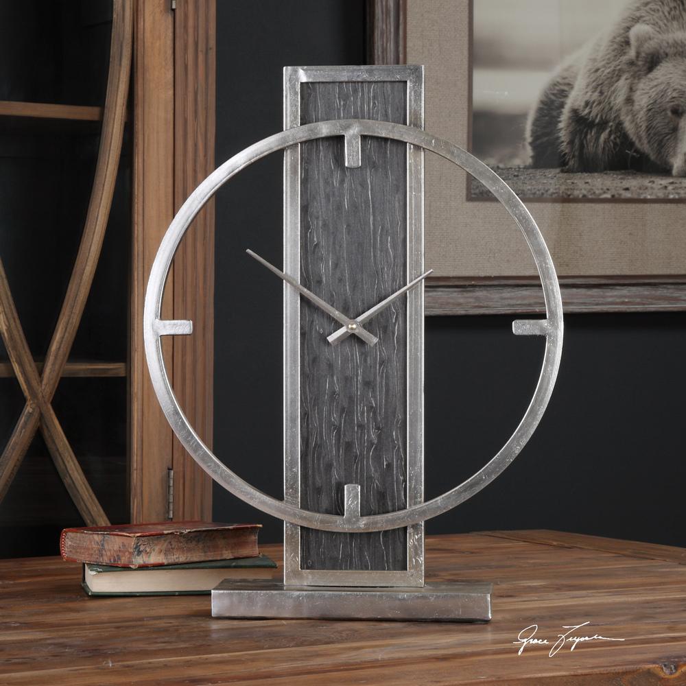 Uttermost Company - Nico Table Clock