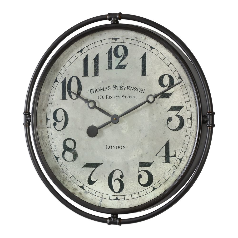 Uttermost Company - Nakul Industrial Wall Clock