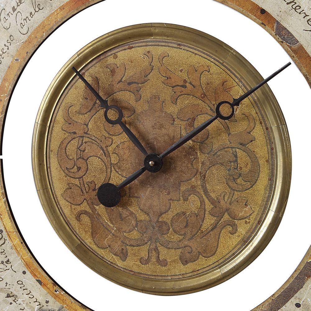 Uttermost Company - Ezekiel Wall Clock