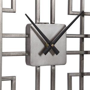 Thumbnail of Uttermost Company - Vanini Silver Table Top Clock
