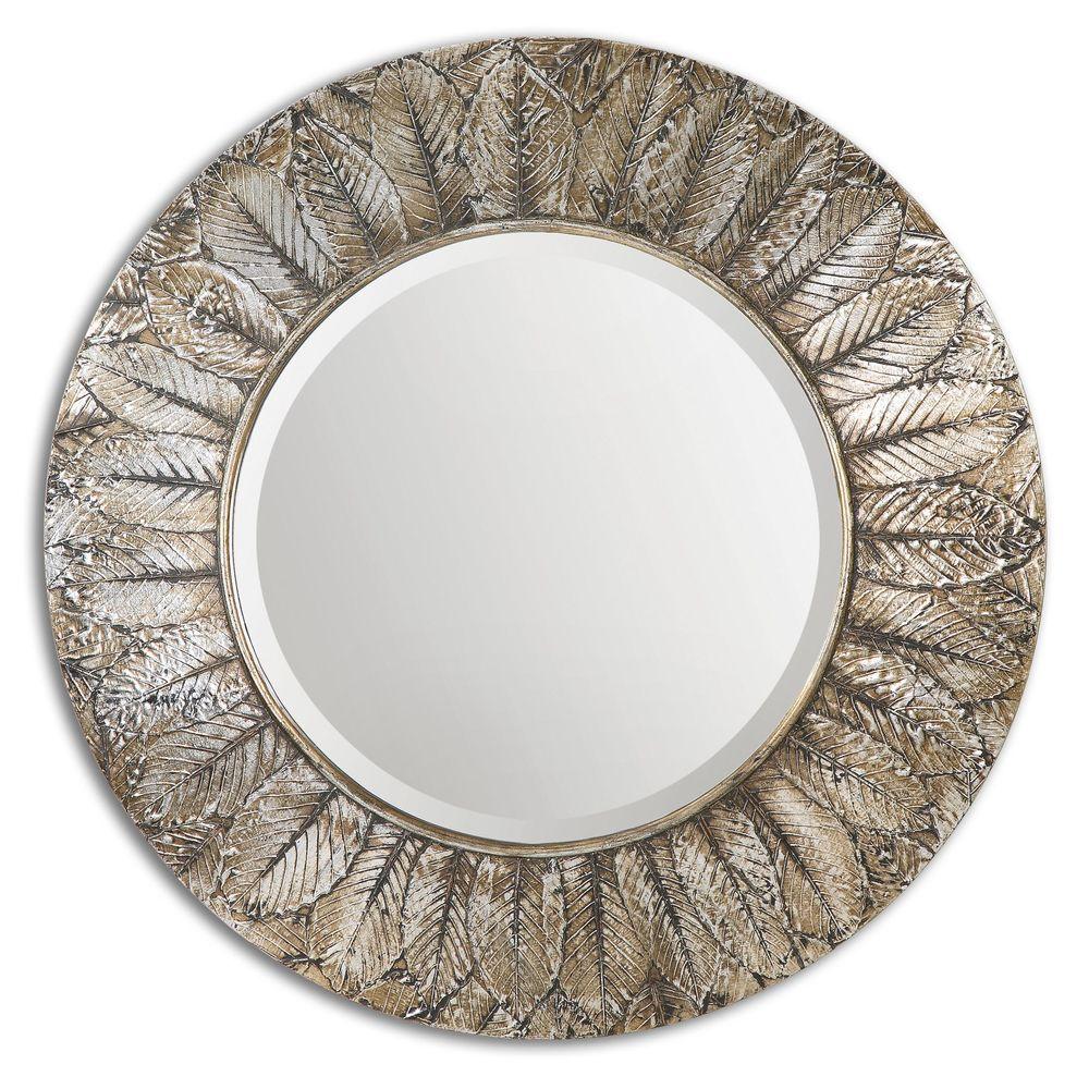 Uttermost Company - Foliage Round Mirror