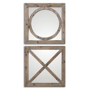 Thumbnail of Uttermost Company - Baci E Abbracci Square Mirrors, Set/2