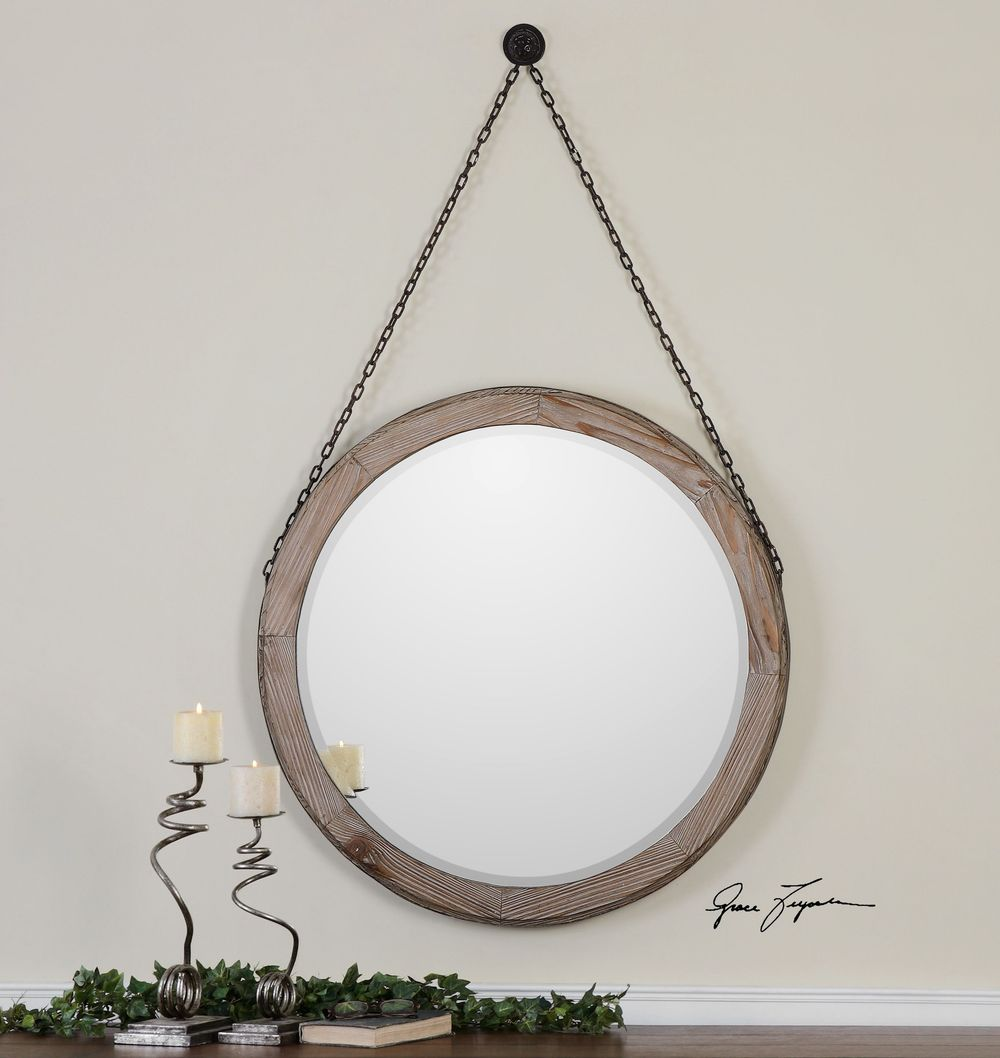 Uttermost Company - Loughlin Round Mirror